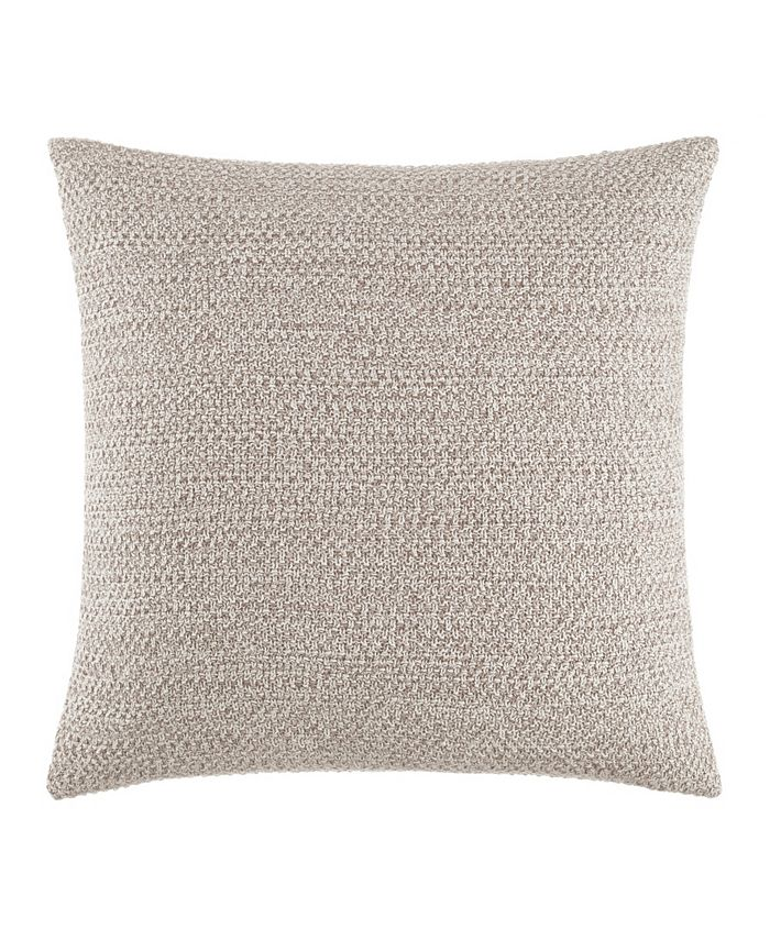 Kenneth Cole - Essentials Marled Knit Throw Pillow