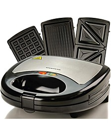 3-in-1 Electric Sandwich Maker