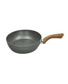 "Wood and Stone Style 11"" Fry Pan"