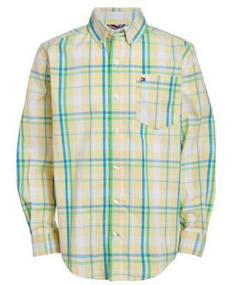 Big Boys Sadi Stretch Plaid Shirt