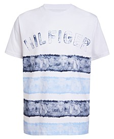 Big Boys Boys Alex Stripe Logo T-Shirt