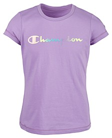 Little Girls Ombré Logo T-Shirt