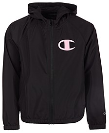 Big Girls Logo Windbreaker