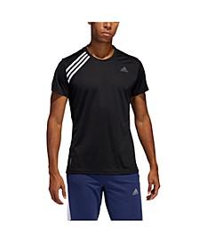 Men's Adidas Run It 3 Stripe Tee