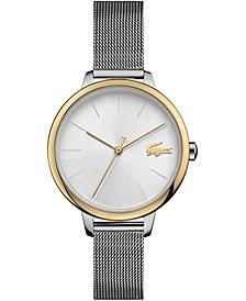 Women's Cannes Stainless Steel Mesh Bracelet Watch 34mm