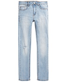 Big Boys Tumble Skinny-Fit Stretch Destroyed Jeans, Created for Macy's