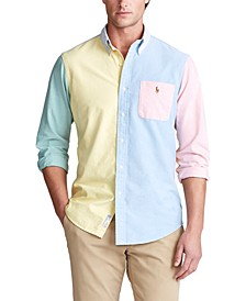 Men's Big & Tall Oxford Fun Shirt