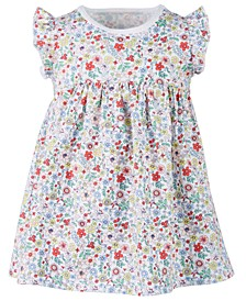 Baby Girls Printed Cotton Dress, Created for Macy's