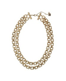 Two-Row Chain Necklace