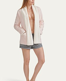 Women's Sweater-Knit Lounge Cardigan, Online Only