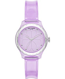 Women's Rosebank Purple Polyurethane Strap Watch 32mm
