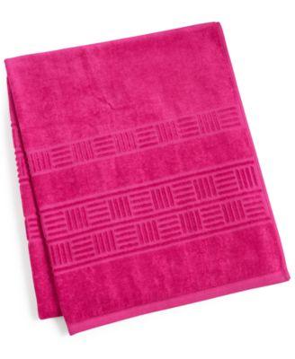 """CLOSEOUT! Trailing Flower Cotton 30"""" x 54"""" Bath Towel"""