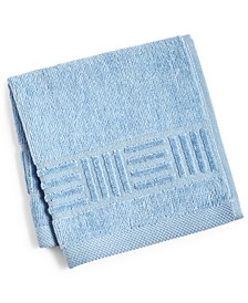 "CLOSEOUT! Basket Weave Cotton 12"" x 12"" Wash Cloth"
