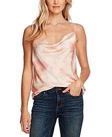 Tie-Dyed Cowlneck Camisole