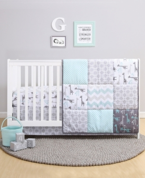 Ps by The Peanutshell Addison 3-Piece Crib Bedding Set Bedding