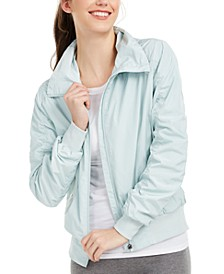 Ruched-Sleeve Hooded Jacket, Created for Macy's