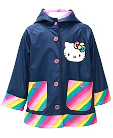Toddler Girls Hello Kitty Rainy Bow Rain Coat