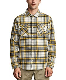 Men's Panhandle Regular-Fit Plaid Flannel Shirt