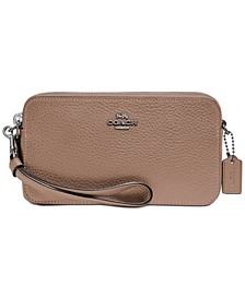 Polished Pebble Leather Kira Crossbody