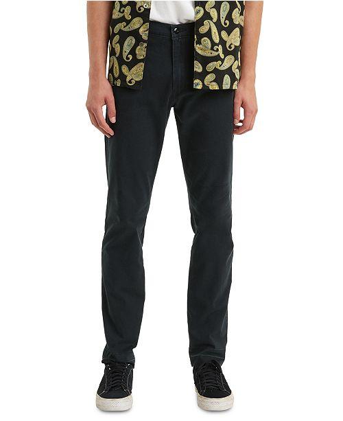 Levi S Men S Xx Tapered Chino Pants Reviews Pants Men Macy S