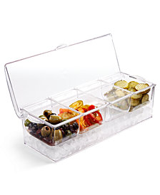 Martha Stewart Collection Americana Rectangular Food Storage-on-Ice Container, Created for Macy's