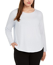 Plus Size Organic Cotton Top