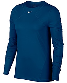 Women's Pro Long-Sleeve Mesh Top