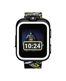 Kids PlayZoom DC Comics White Batman Strap Touchscreen Smart Watch 42x52mm