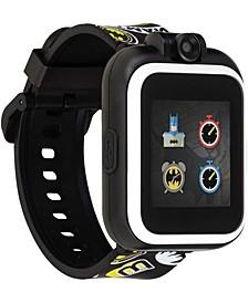PlayZoom DC Comics - Yellow Batman Strap Touchscreen Smart Watch 42x52mm
