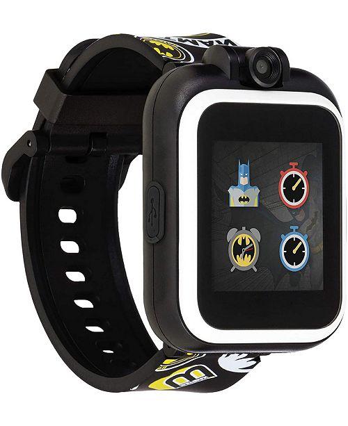 iTouch PlayZoom DC Comics - Yellow Batman Strap Touchscreen Smart Watch 42x52mm