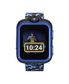 Kids PlayZoom DC Comics Blue Batman Strap Touchscreen Smart Watch 42x52mm