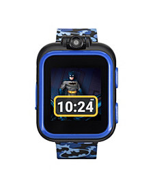 iTouch Kids PlayZoom DC Comics Blue Batman Strap Touchscreen Smart Watch 42x52mm