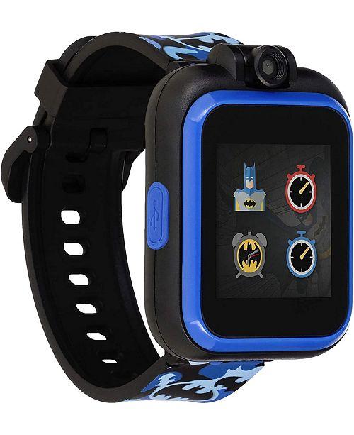 iTouch PlayZoom DC Comics - Blue Batman Strap Touchscreen Smart Watch 42x52mm