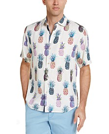 Men's Pop Art Pineapple Graphic Shirt
