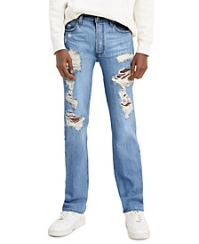 Men's 501 Original-Fit Ripped Jeans