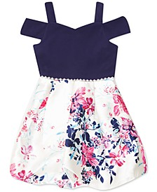 Little Girls Floral Bubble Dress, Created for Macy's