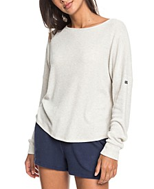 Juniors' Holiday Everyday Ribbed Top