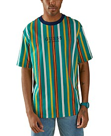Men's Party Striped T-Shirt