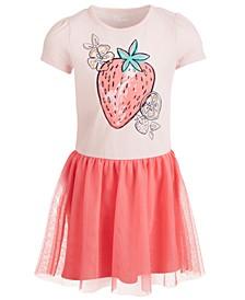Little Girls Strawberry Tutu Dress, Created for Macy's