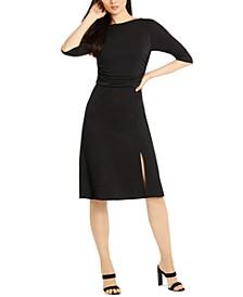 3/4-Sleeve Azalea Dress
