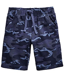 Little Boys Camouflage Knit Shorts, Created for Macy's
