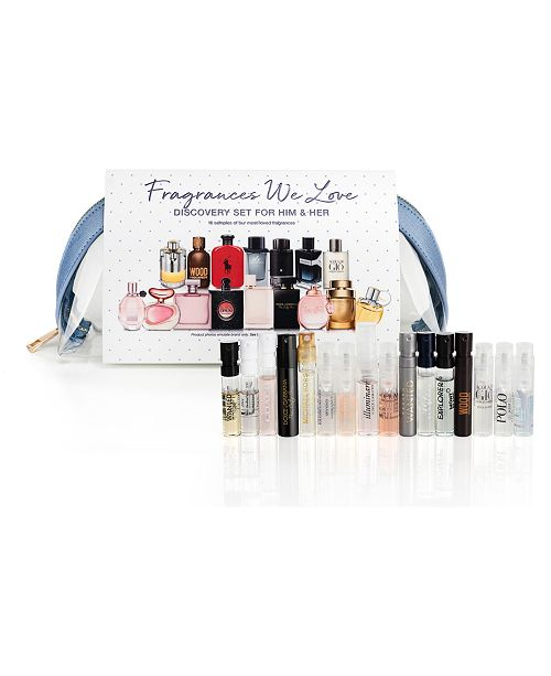 Created For Macy's 16-Pc. Fragrance Discovery Set, Created for Macy's