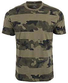 Men's Core Camo Stripe T-Shirt, Created For Macy's
