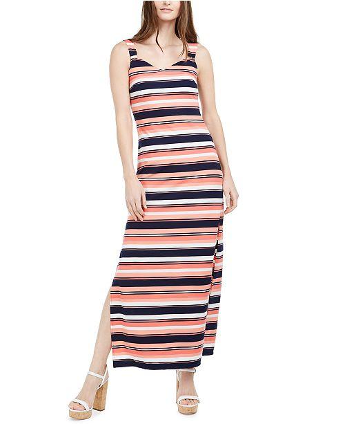Michael Kors Striped Maxi Dress
