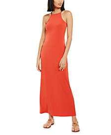 Michael Michael Kors Chain-Link-Strap Maxi Dress