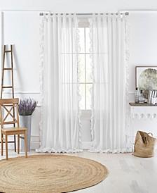 Bella Sheer Ruffle Curtain Collection