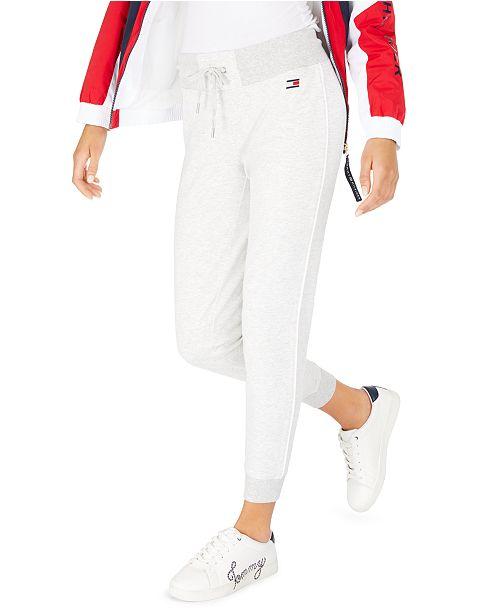 Tommy Hilfiger Side-Striped Jogger Pants