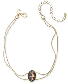 Gold-Tone Wild Stone Anklet, Created for Macy's