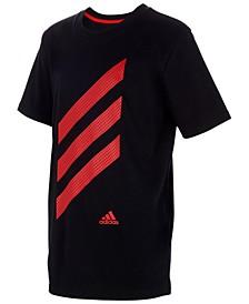 Big Boys 3-Stripe Cotton T-Shirt