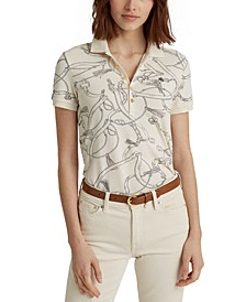 Lauren Ralph Lauren Classic Polo Shirt,Winter Cream